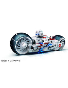 OWI Robot - OWI-753 - Salt Water Fuel Cell Motorcycle | STEM Toy Store | STEMToyStore.com