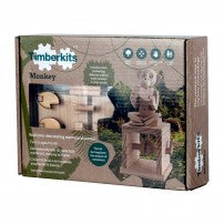 Timberkits - Cheeky Monkey - Wooden Automata Model Kit - TIM103 | STEM Toy Store | STEMToyStore.com