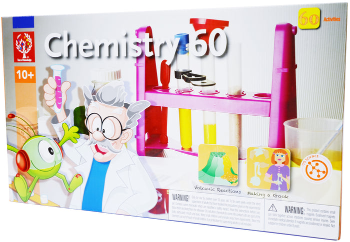 Edu-Toys - Edu-Science - Chem 60 - EDU7075 | STEM Toy Store | STEMToyStore.com