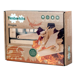 Timberkits - Dragon - Wooden Automata Model Kit - TIM104 | STEM Toy Store | STEMToyStore.com