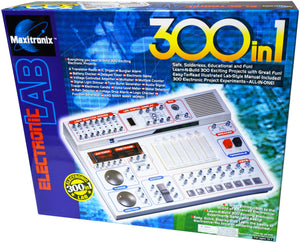 ELENCO - Maxitronix - 300-in-1 Electronic Project Lab - MX908 | STEM Toy Store | STEMToyStore.com