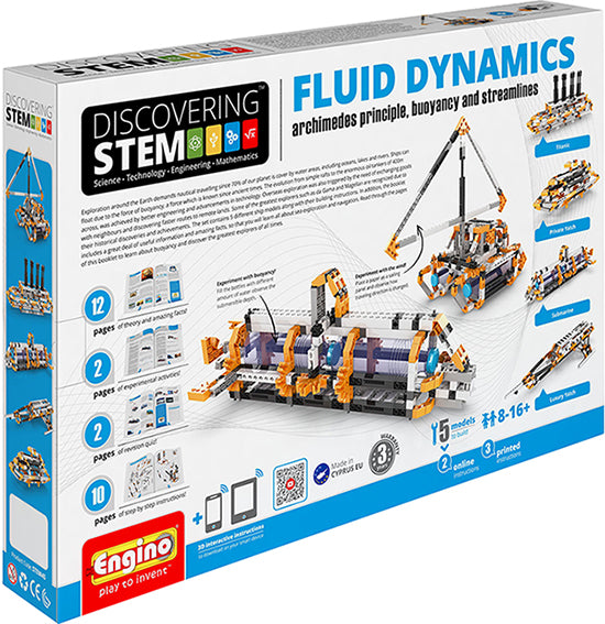 Engino - Discovering STEM - Fluid Dynamics - ENGSTEM45 | STEM Toy Store | STEMToyStore.com