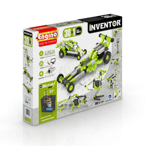 Engino - Inventor Series - 30-in-1 Models Motorized Set - ENG3030 | STEM Toy Store | STEMToyStore.com