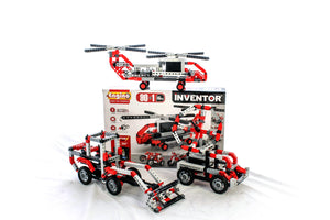 Engino - Inventor Series - 90-in-1 Models Motorized Set - ENG9030 | STEM Toy Store | STEMToyStore.com