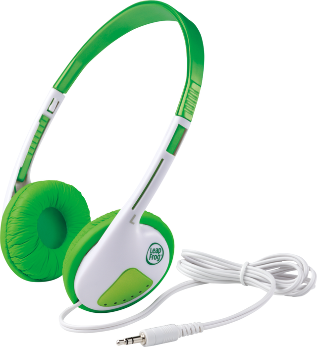 LeapFrog Headphones Green 3-9 Years BP | STEM Toy Store | STEMToyStore.com