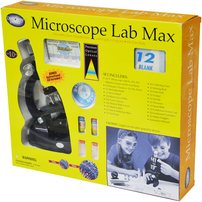 Edu-Toys - Microscope Lab Max - EDU41002 | STEM Toy Store | STEMToyStore.com