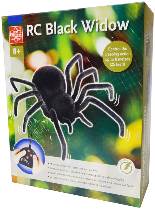 Radio Controlled Black Widow - EDU37526 | STEM Toy Store | STEMToyStore.com