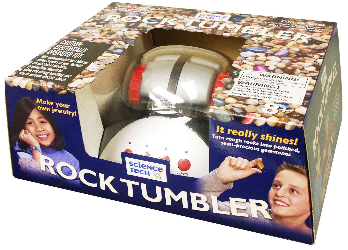 Rock Tumbler - EDU36793 | STEM Toy Store | STEMToyStore.com
