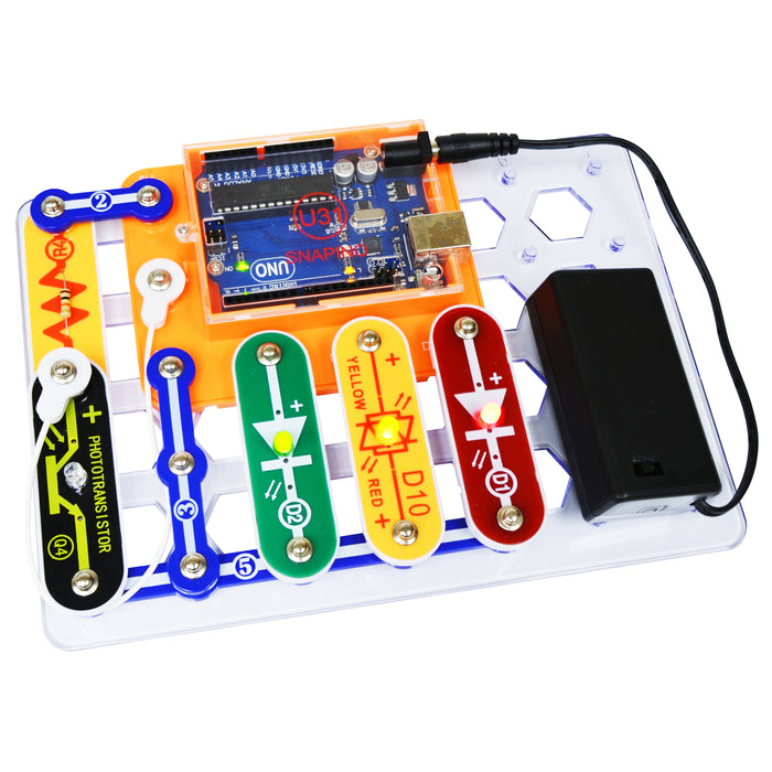 ELENCO - Snap Circuits - SNAPINO - 20+ STEM Projects - SCSNAPINO | STEM Toy Store | STEMToyStore.com