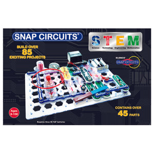 ELENCO - Snap Circuits - STEM Kit - 85+ STEM Projects - SCSTEM1 | STEM Toy Store | STEMToyStore.com
