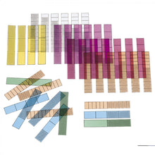 Fraction Bars™ Overhead Transparencies | STEM Toy Store | STEMToyStore.com