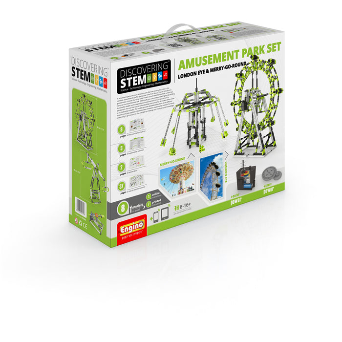 Engino - Discovering STEM - STEM Amusement Park (London Eye & Ferris Wheel) -  ENGSTEM56 | STEM Toy Store | STEMToyStore.com