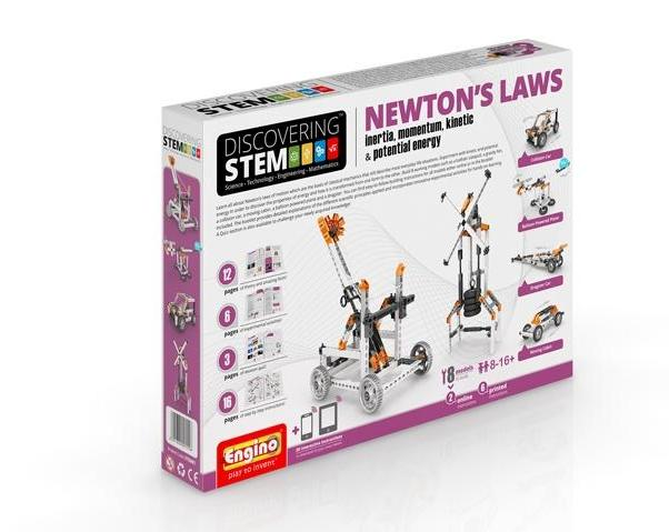 Engino - Discovering STEM - NEWTONS LAWS - ENGSTEM07 | STEM Toy Store | STEMToyStore.com