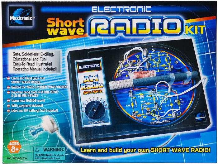 Short Wave Radio Kit - MX901SW | STEM Toy Store | STEMToyStore.com