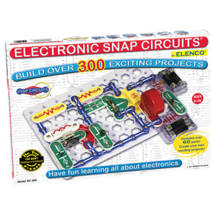 ELENCO - Snap Circuits - 300 Experiments Kit - 300+ STEM Projects - SC300 | STEM Toy Store | STEMToyStore.com