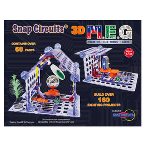 ELENCO - Snap Circuits - 3D - M.E.G. - 160+ STEM Projects - SC3DMEG | STEM Toy Store | STEMToyStore.com