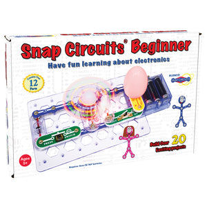 ELENCO - Snap Circuits - Beginner - 20+ STEM Projects - SCB20 | STEM Toy Store | STEMToyStore.com