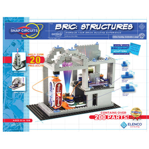 ELENCO - Snap Circuits - Bric Structures - 20+ STEM Projects - SCBRIC1 | STEM Toy Store | STEMToyStore.com