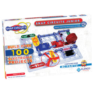 ELENCO - Snap Circuits Jr. - 100 Experiments Kit - 100+ STEM Projects - SC100 | STEM Toy Store | STEMToyStore.com