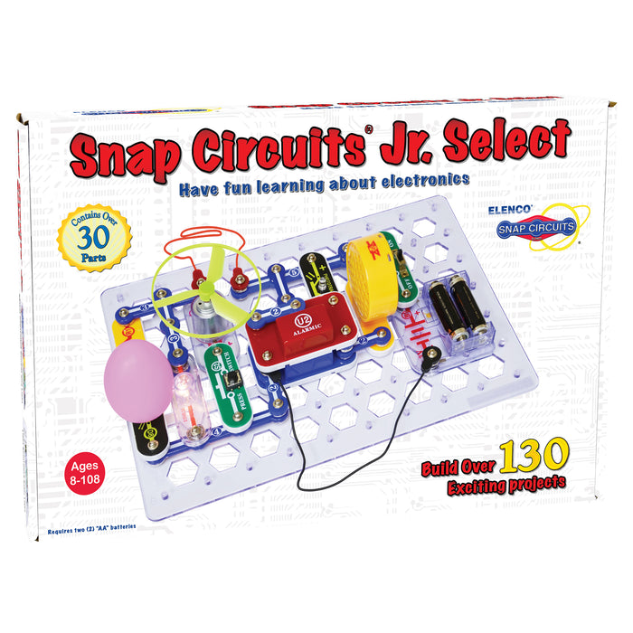 ELENCO - Snap Circuits Jr. Select - 133 Projects - 130+ STEM Projects  - SC130 | STEM Toy Store | STEMToyStore.com