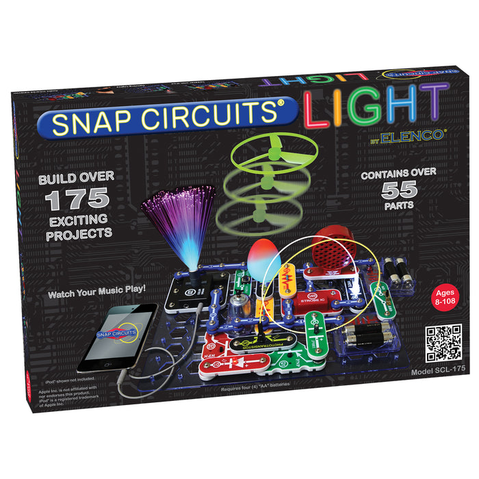 ELENCO - Snap Circuits - LIGHT - 175+ STEM Projects - SCL175 | STEM Toy Store | STEMToyStore.com