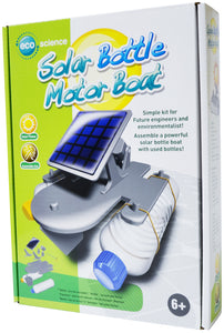 Solar Bottle Motorboat -  EDU37551 | STEM Toy Store | STEMToyStore.com