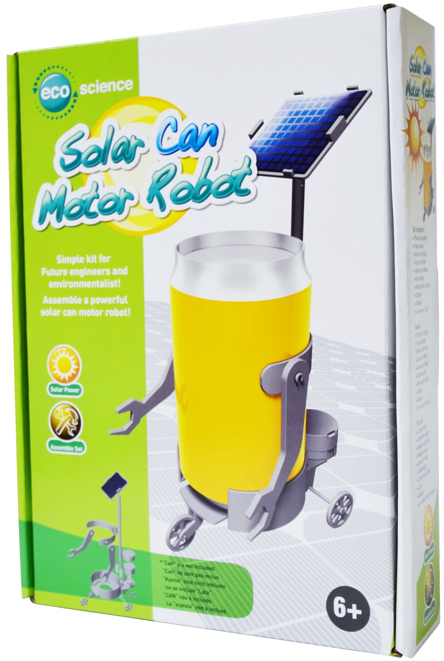 Edu-Toys - Edu-Science - Solar Can Motor Robot - EDU37550 | STEM Toy Store | STEMToyStore.com