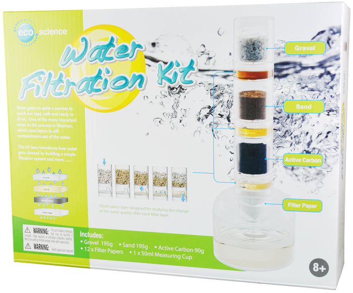 ELENCO - Edu-Science - Water Filtration Kit - EDU37677 | STEM Toy Store | STEMToyStore.com