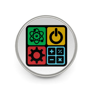 STEM Metal Pin | STEM Toy Store | STEMToyStore.com