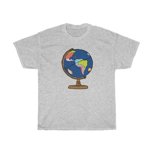 STEM Globe Heavy Cotton Tee | STEM Toy Store | STEMToyStore.com