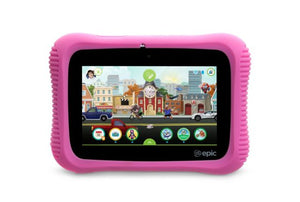 LeapFrog Epic 2.0 - Academy Edition (Pink) - 7 Inch Tablet Computer (L4506) | STEM Toy Store | STEMToyStore.com