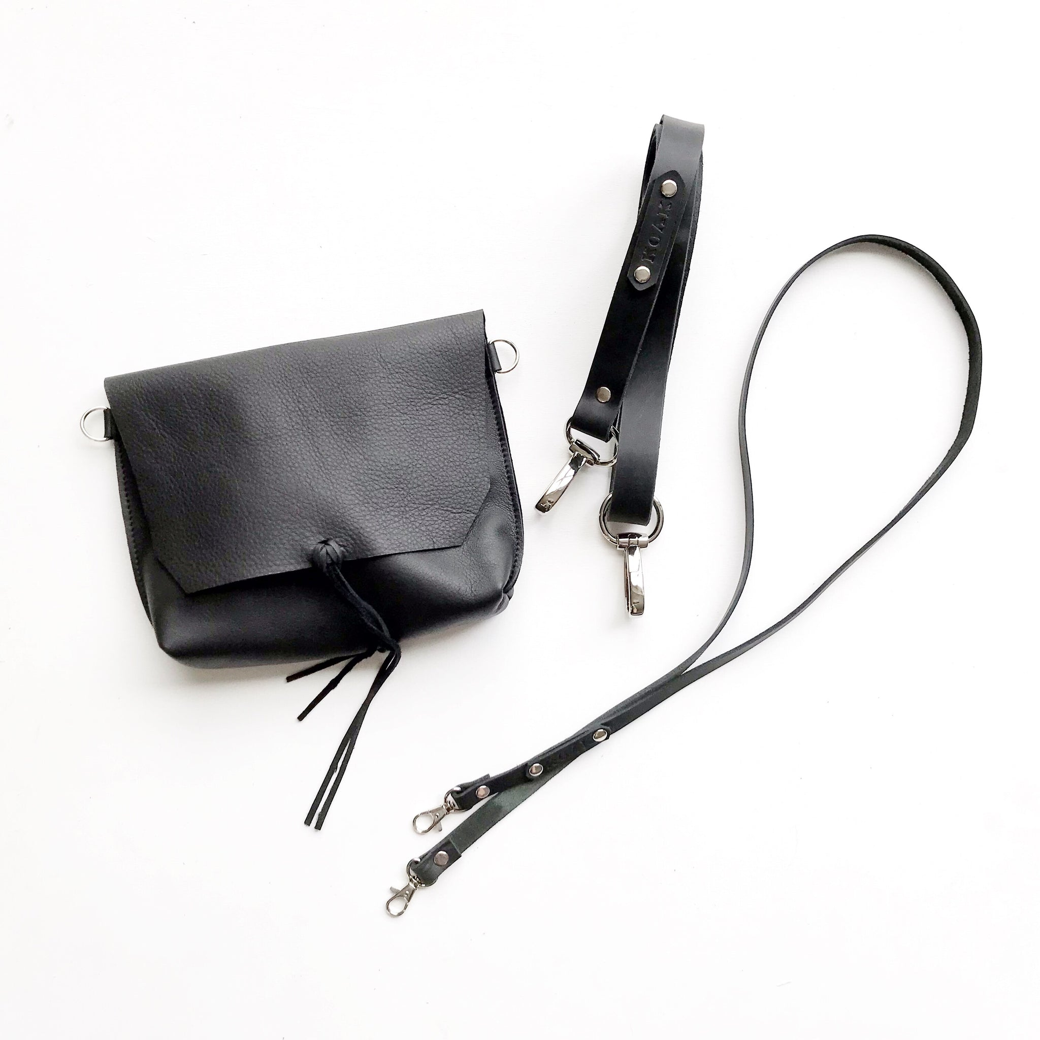 3 in 1 'Evie' Waist Bag - Black