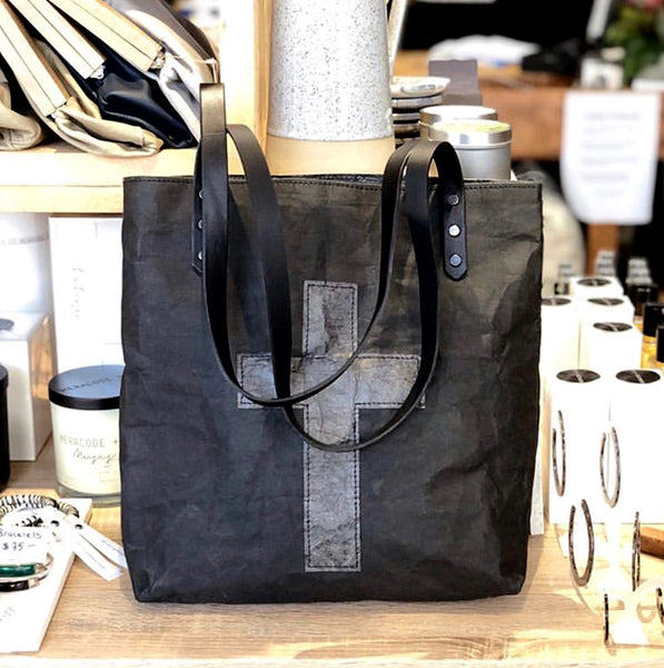 Eco Cross Tote - Black
