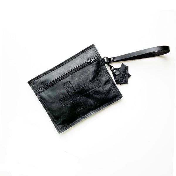 MOFO Cross Wristlet Clutch
