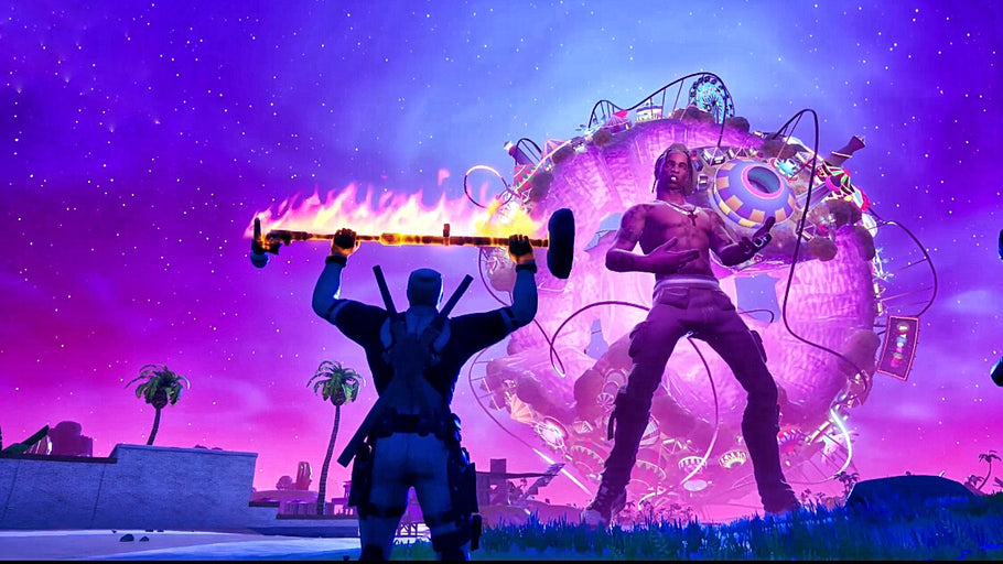 Travis Scott Comes to Fortnite