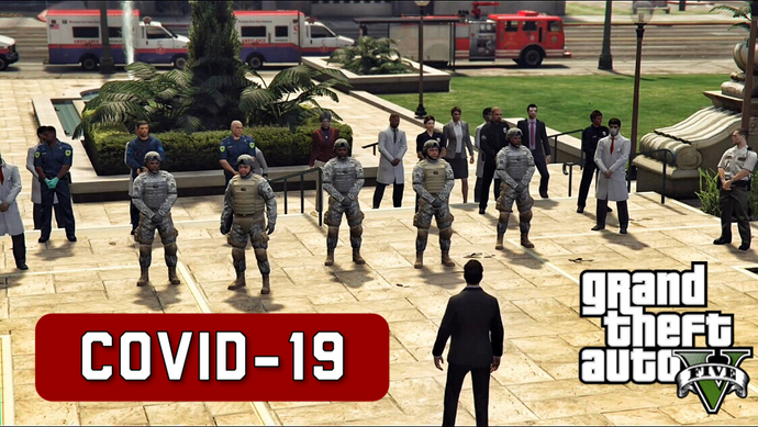 Covid-19 - GTA 5 movie