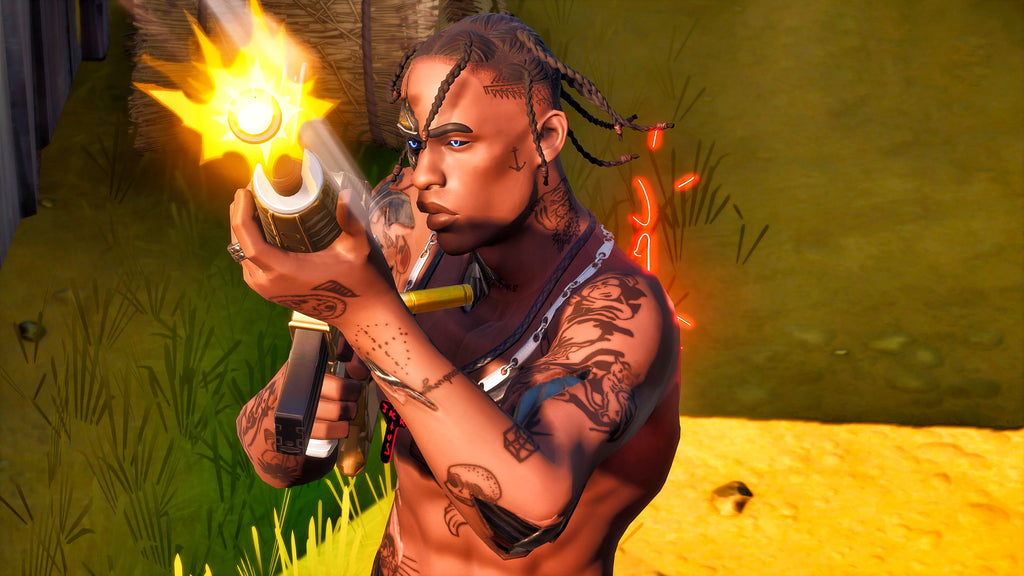 Travis Scott in Fortnite
