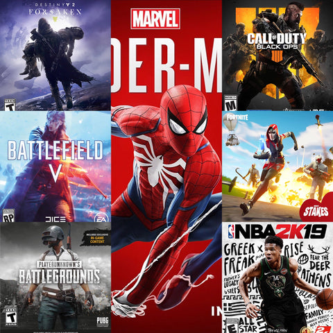Top video games - September 2018