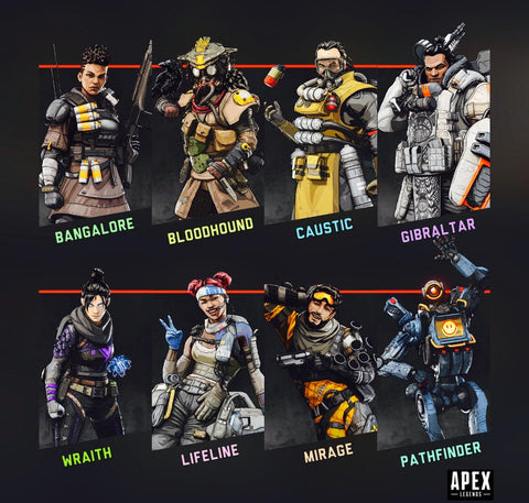 Apex Legends full legend list