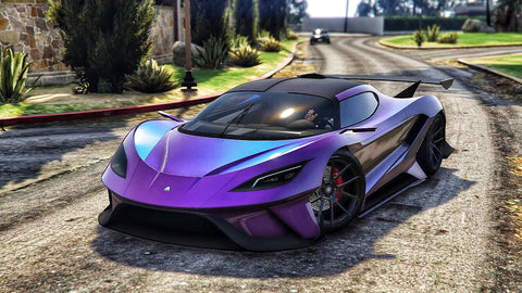 GTA 5 podium vehicle is the supercar, Overflod Tyrant