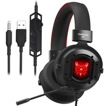 Load image into Gallery viewer, Onikuma K3 Metal Gaming headset connections