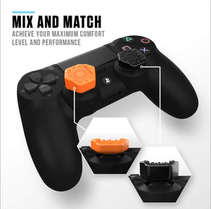 Pro-Hex Controller Thumb Grips for PS4 by Sliq Gaming