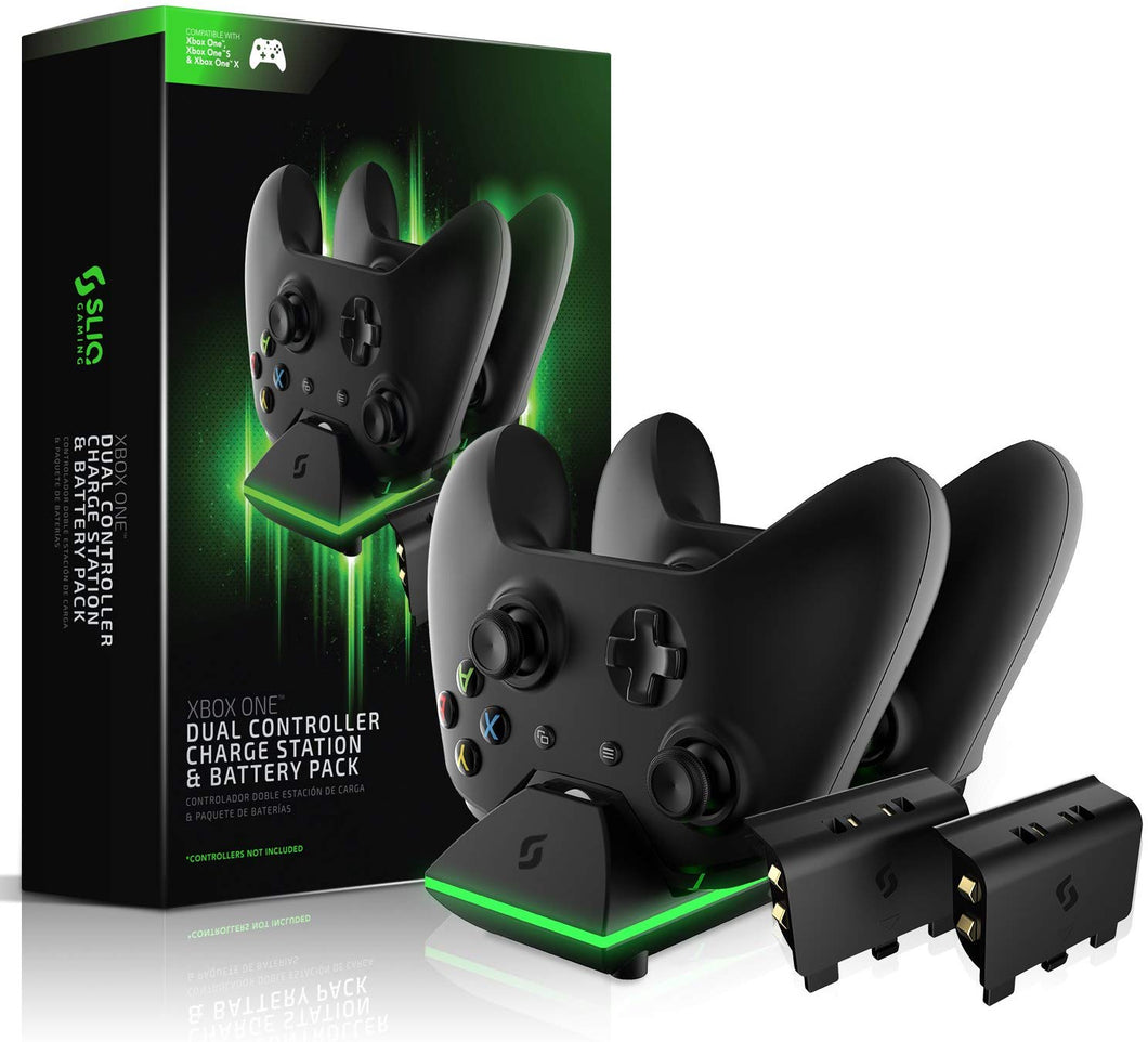 Xbox One Controller Charger Station and Battery Pack by Sliq Gaming