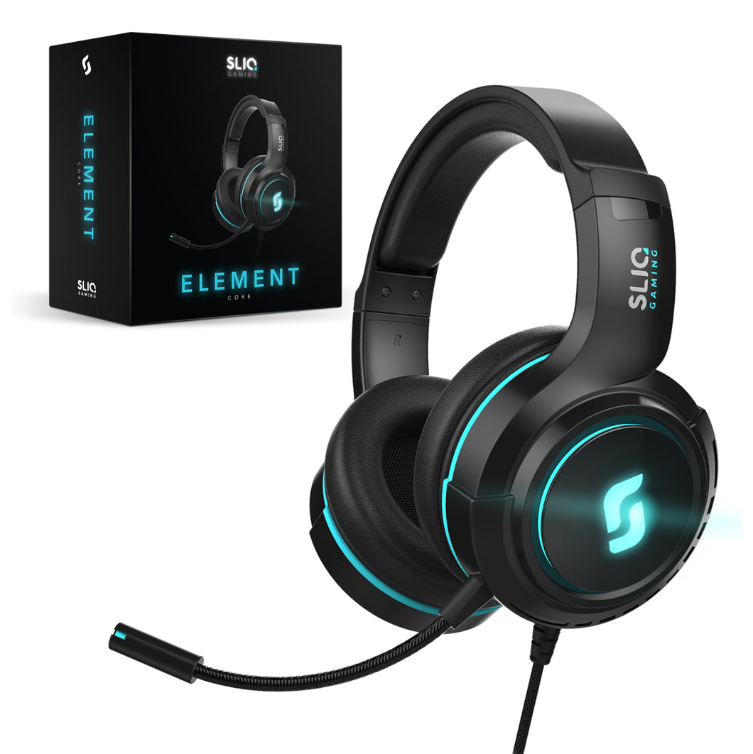 Element Core Gaming Headset for PC, PlayStation 4, Xbox One, Mac, Nintendo Switch by Sliq Gaming