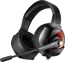 Load image into Gallery viewer, Onikuma K6 Black Gaming Headset For Xbox One, PS4 and PC