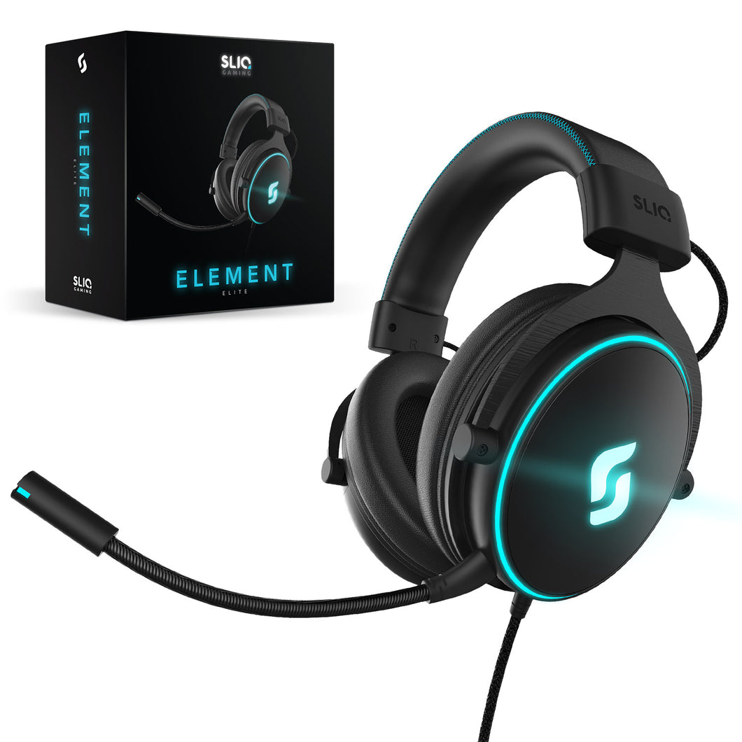 Element Elite Headset Gaming Headset for PC, PlayStation 4, Xbox One, Mac, Nintendo Switch by Sliq Gaming
