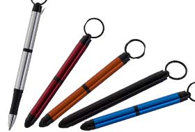 Tough Touch Key Chain/Stylus Space Pen
