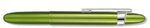 Lime Green Bullet Space Pen w/ Clip