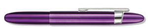 Purple Passion Bullet Space Pen w/ Clip