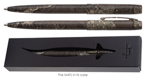 M4TS - TRUE TIMBER STRATA CAMOUFLAGE WRAPPED CAP-O-MATIC SPACE PEN